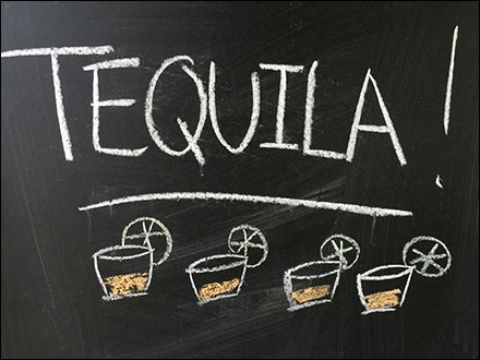Tequila Soup-of-The-Day Chalkboard