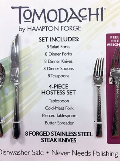 Tomodache Hampton Forge Silverware Try Me 3