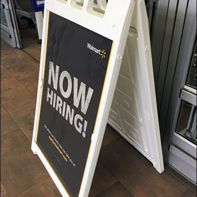 How To Hire With Chalkboard Sidewalk Signs