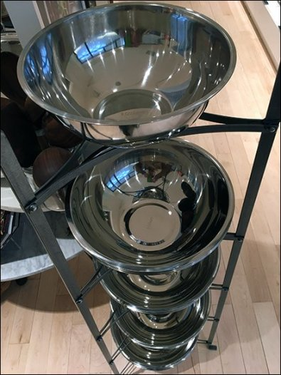 Williams Sonoma Mixing Bowl Tower 3