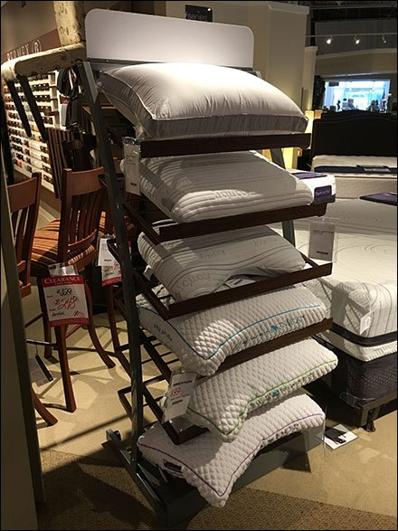 Arch Pillow Tower Display 3