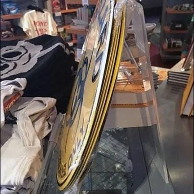 Biohazard Acrylic Easel As Table Stand Display