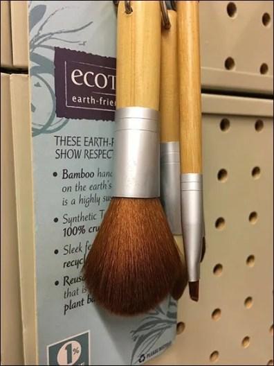 Makeup Brush Sampler Ring Zip Tied