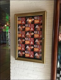 Crescenzo's Step-and-Repeat Pizza Signage