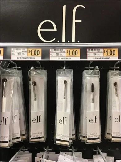 Elf Makeup Accessories Merchandiser Spinner Tower
