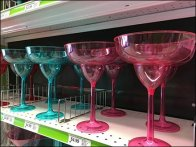 Plastic Party Glassware Fenced At Party City