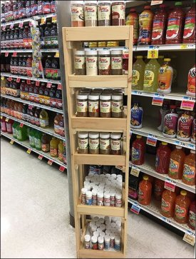 Spice and Condiments Tower
