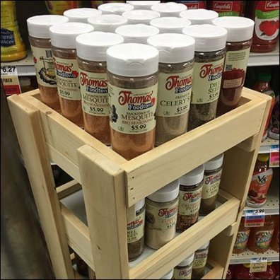 Foodland Spice and Condiments Tower