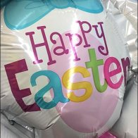 Happy Easter Bunny Inflatable At Party City