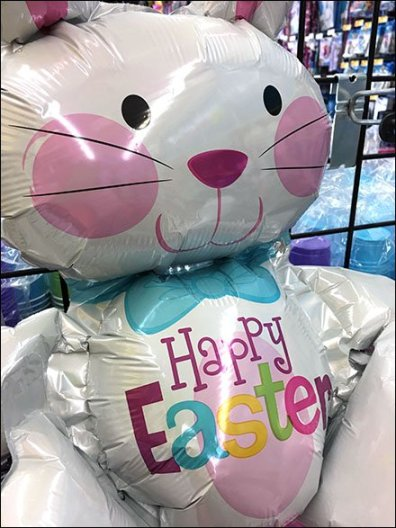 Happy Easter Bunny Inflatable 2