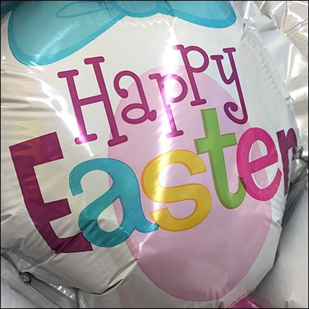 Happy Easter Bunny Inflatable Square1