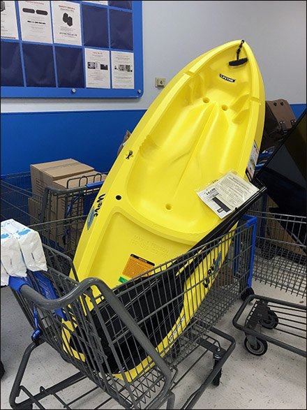 Kayak Sale and Return Retail Strategy At Walmart