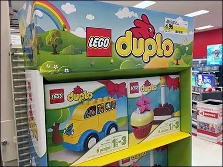 Duplo Bunny Sidekick Display Lego