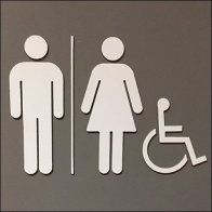 Restroom Unisex But Not Yet LGBT Feature