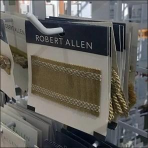 Robert Allen Trim Swatch Samples Gridwall Hook Main