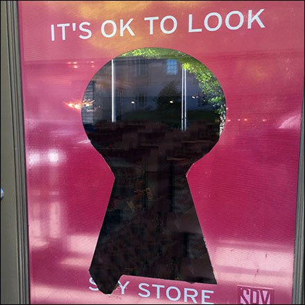 Keyhole Sales Psychology As Window Dressing