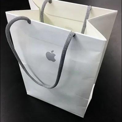 Apple Branded Shopping Bag