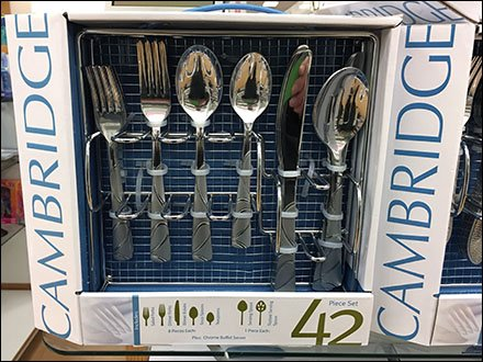 Silverware Settings Sold By Drawer Insert Tray