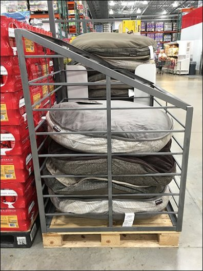 Dog Bed Bulk Bin At Costco Warehouse Clun
