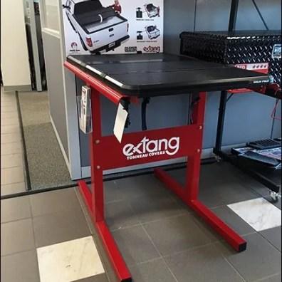 Extang Tonneau Cover Display For Pickup Trucks