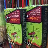 Grilling Fishing Rod Sold By Hook