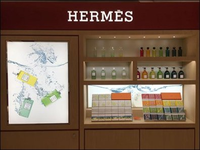 Package Lineup of Hermes Fragrances