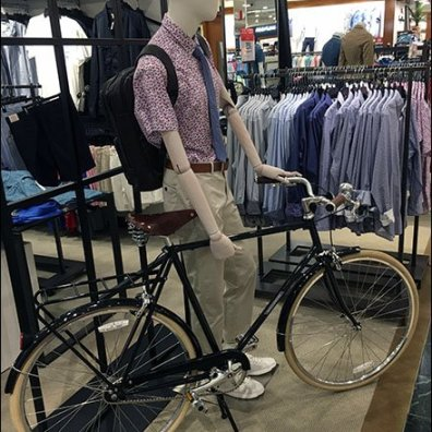 Formalware vs Athleisure Bicycle Propping