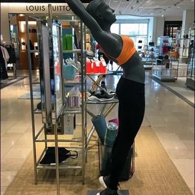 Athleisure Backbend Merchandising At Neiman Marcus