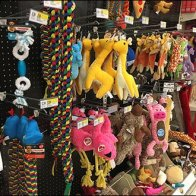 Pet Plush Retails By Straight-Entry Hook