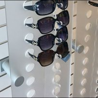 Sunglass Slatwall Standoff Support for Endcap