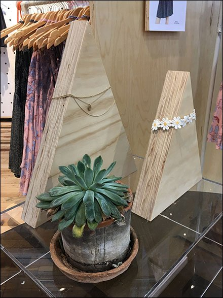 Urban Outfitters Plywood Pyramid Props