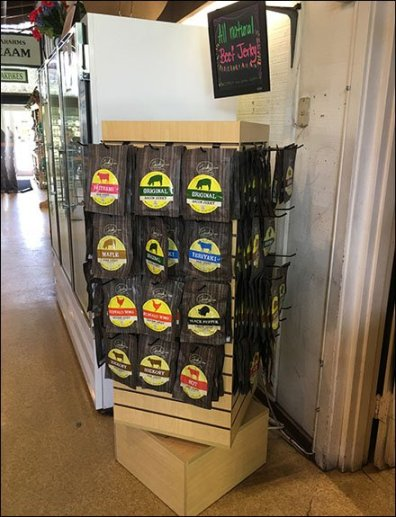 All Natural Beef Jerky Spinner Tower
