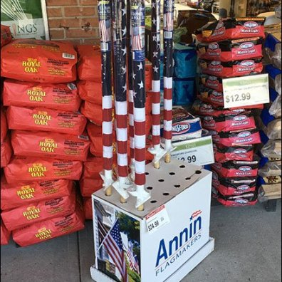 American Flag Sidewalk Sale by Annin Flagmakers