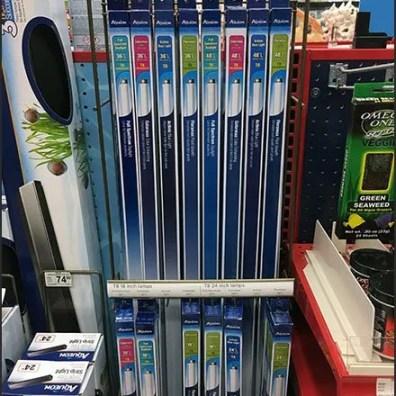 Aquarium Fluorescent Tube Display Rack