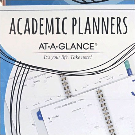 Back-To-School Academic Planner Endcap Feature1