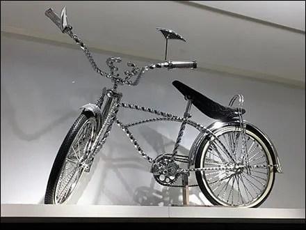 Bicycle Hero For Retail Swimwear Display