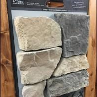 Boulder Creek Stone Sample Metal Plate Hanger