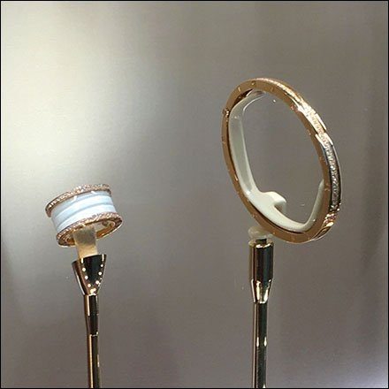 Weighted Jewelry Stand by Bulgari