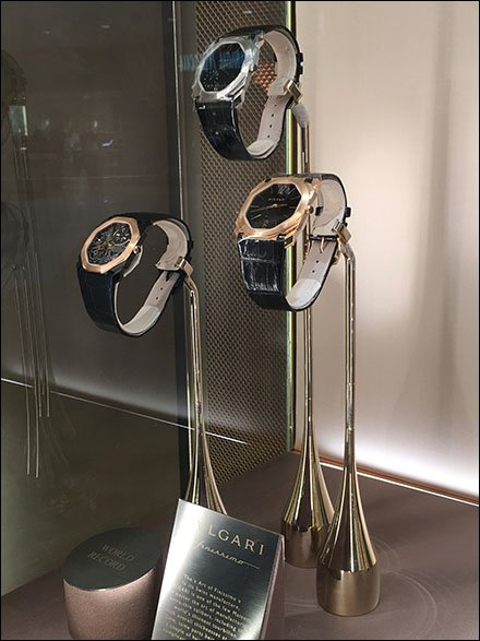 Weighted Wrist Watch Stand by Bulgari