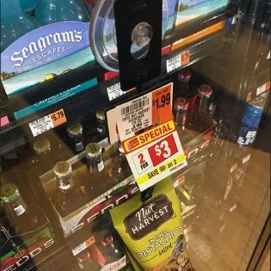 Cooler Door Strip Merchandiser Beer Nut Cross Sell