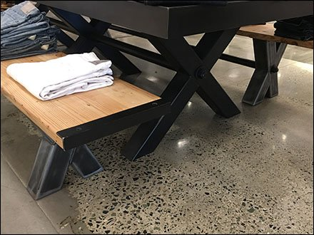 Cross-Brace Trestle Table For Father's Day