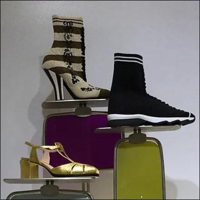Fendi Shoe Pedestal Style Extremes