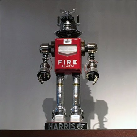 Fire Alarm Robot Prop Feature