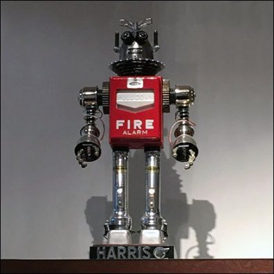 Fire Alarm Robot Prop Feature