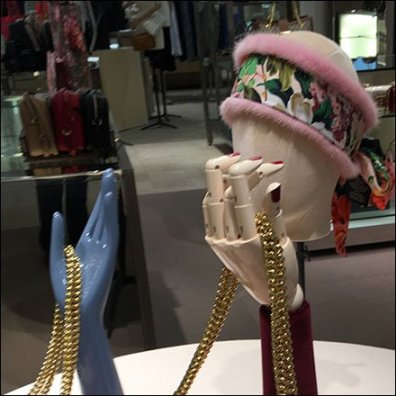 Gucci Handjob Headjob Visual Merchandising Overview Features