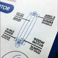 LiftBoard Electric Skateboard Pick Cards