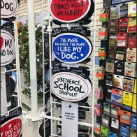 Magnetic Sign Spinner Tower Rack