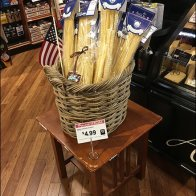 Patriotic Pasta Table-Top Merchandising