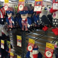 Patriotic Pet Toys Slatwall Scan Hooks