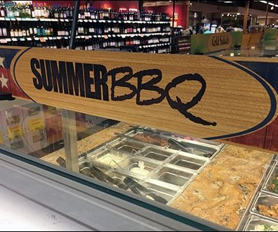 Patriotic Summer BBQ At The In-Store Cafe
